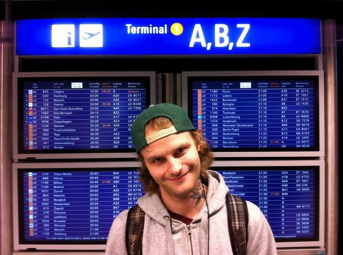 Nils Are klar for avreise